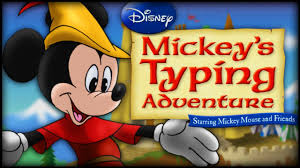 Disney Typing Adventure