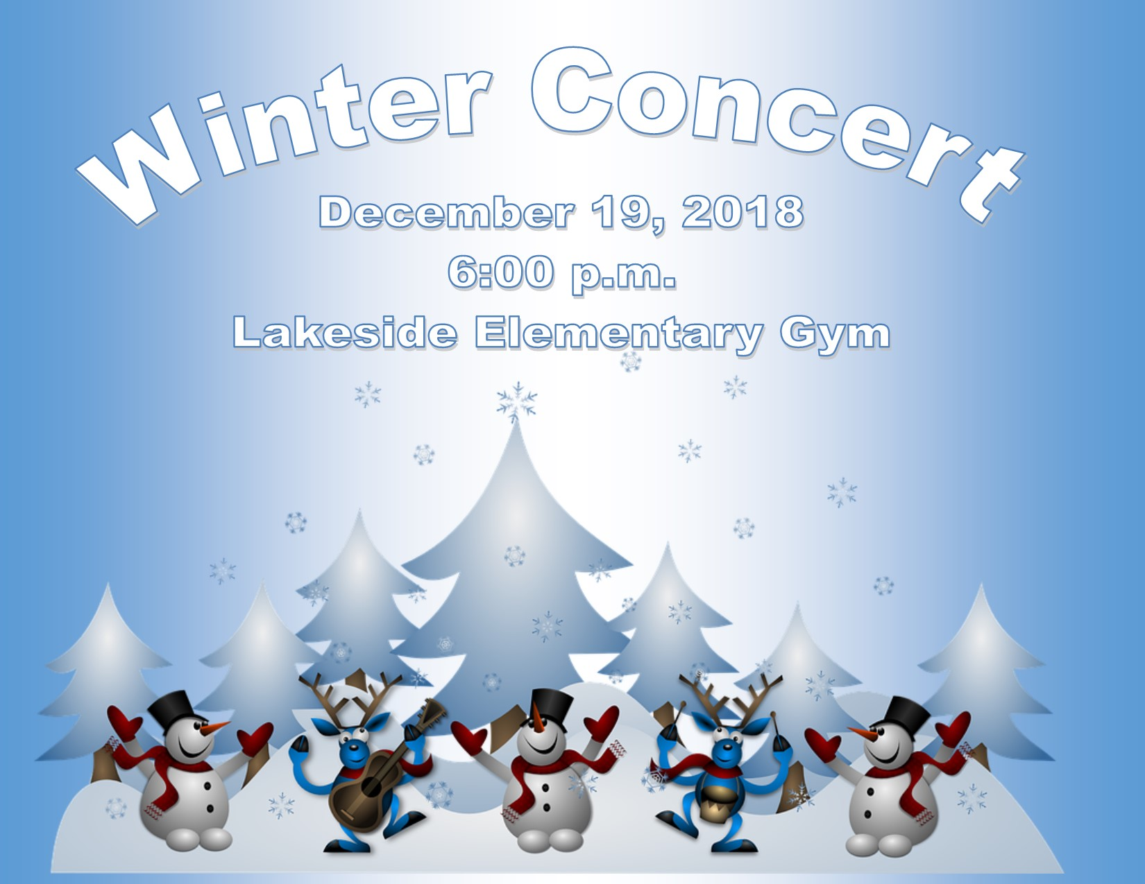 Upcoming Winter Concert